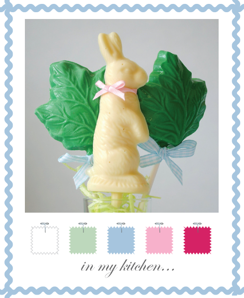 Easter Chocolate lollipops by Torie Jayne