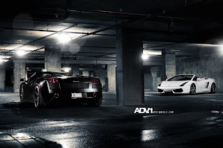 Lamborghini Gallardo Garage Awesome HD Wallpaper