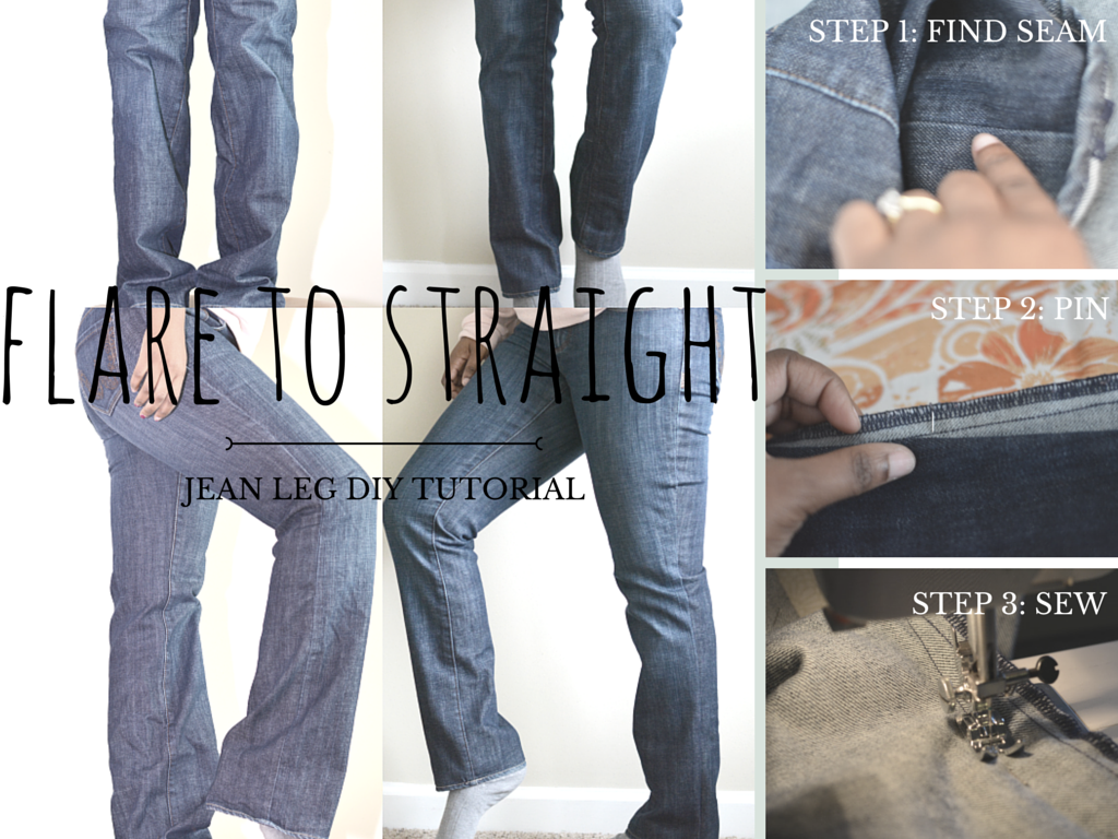 original jeans hem tutorial