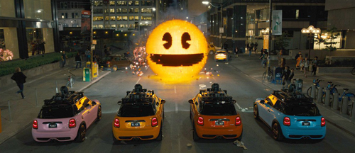 Pixels (2015) new on DVD and Blu-Ray