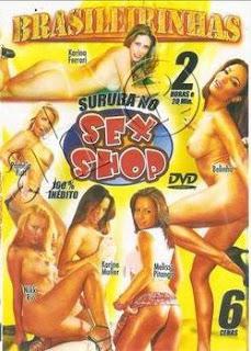 Brasileirinhas Suruba no Sexshop