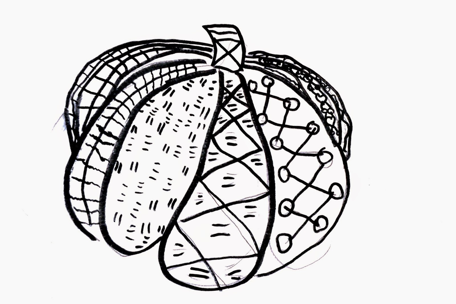 zentangle pumpkin drawings lessons from the k 12 art room