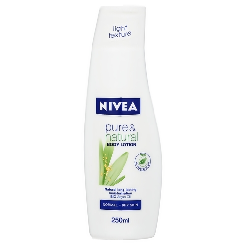 Nivea Pure & Natural Body Lotion, Rangkaian Proudk NIVEA Pure & Natural, NIVEA Pure & Natural, NIVEA