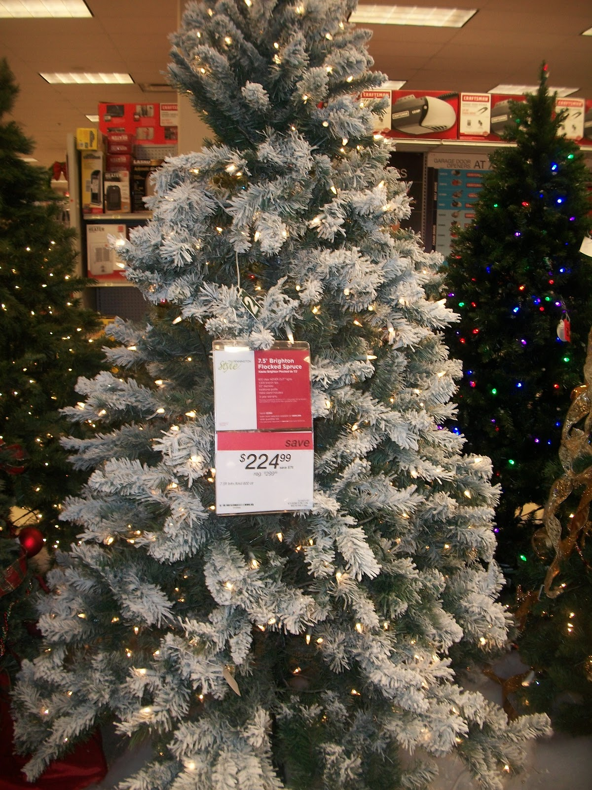 sears christmas outdoor decorations