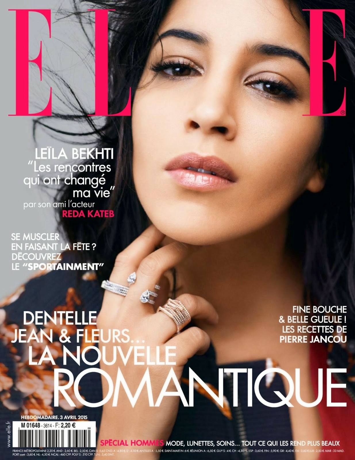 Actress @ Leila Bekhti - Elle France, April 2015