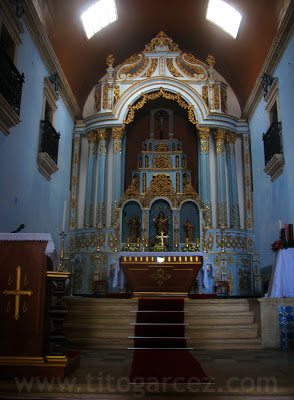 Altar-mor da igreja matriz de São Cristóvão
