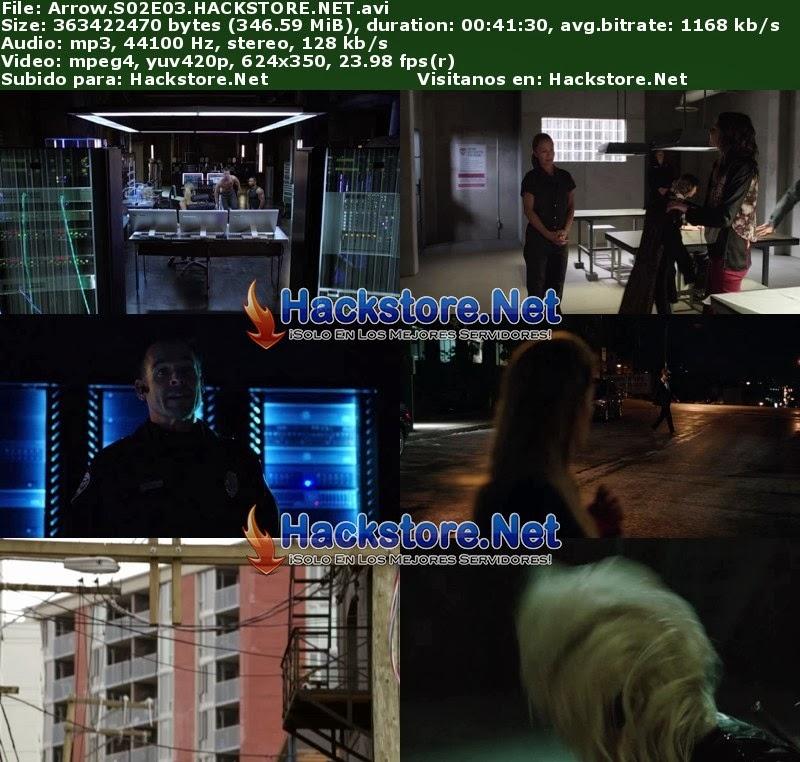 Captura Arrow Segunda Temporada