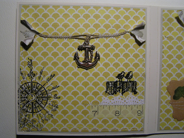Stemple silikonowe morskie Viva Decor, kotwica, anchor, washi tape