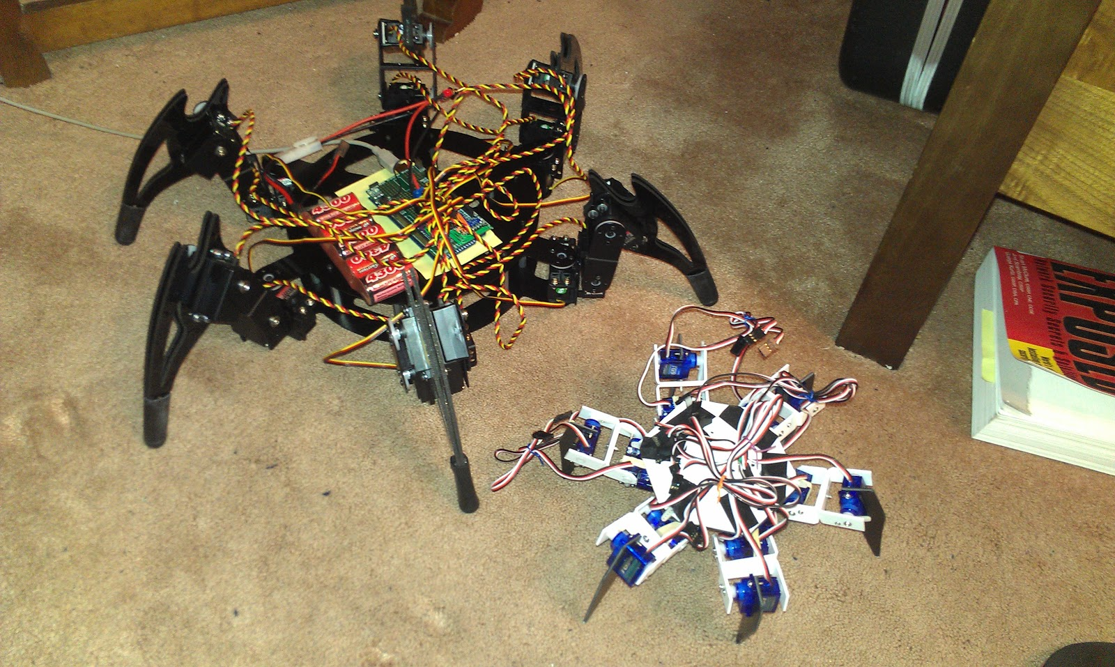 Arduino hexapod robot ik algorithm and source code
