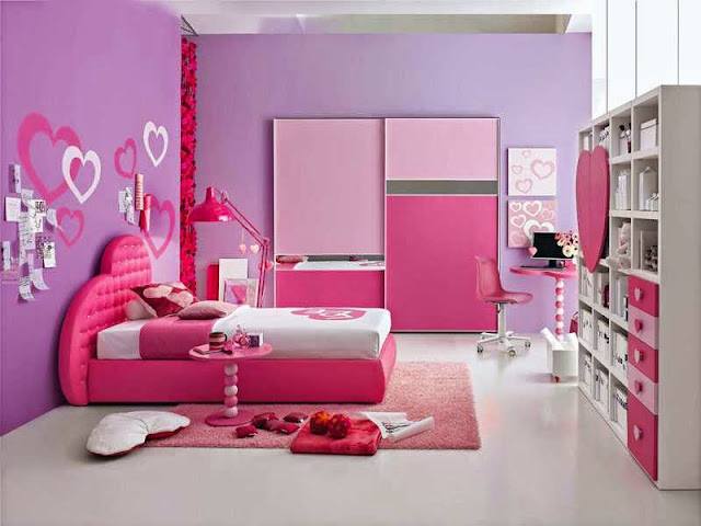 Gambar kamar tidur anak perempuan minimalis