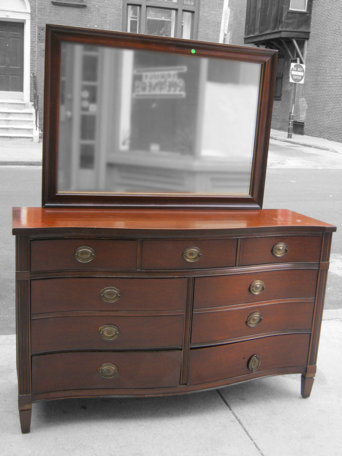 uhuru furniture collectibles mahogany bureau with