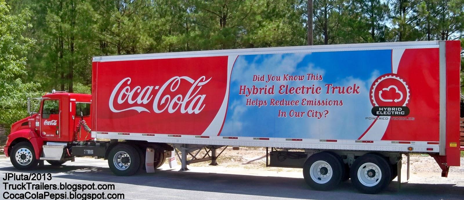 truck coca cola