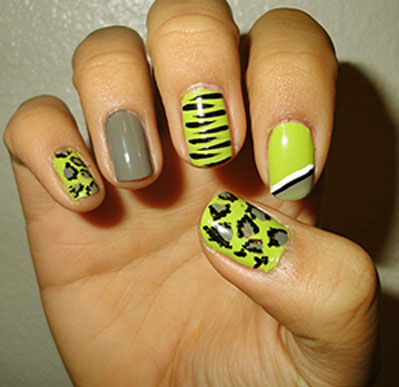 Nail Art Designs For Short Nails Fashion World
