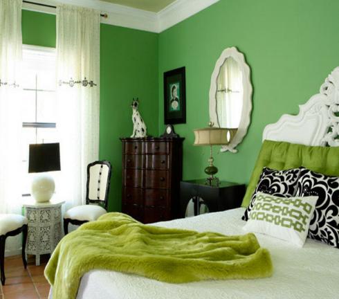 Reformas en zaragoza for Gama de colores verdes para pintar paredes