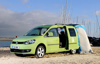 Volkswagen Caddy Maxi Camper (2013) Front Side 2