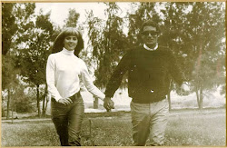 Arnon Milchan and his first wife Brigitte Genmaire