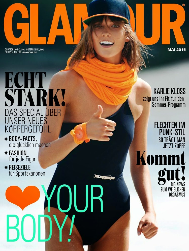 Fashion Model @ Karlie Kloss - Glamour Germany, May 2015