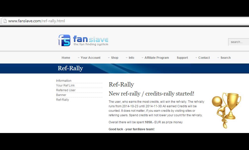 Ho deciso di partecipare al Ref-Rally