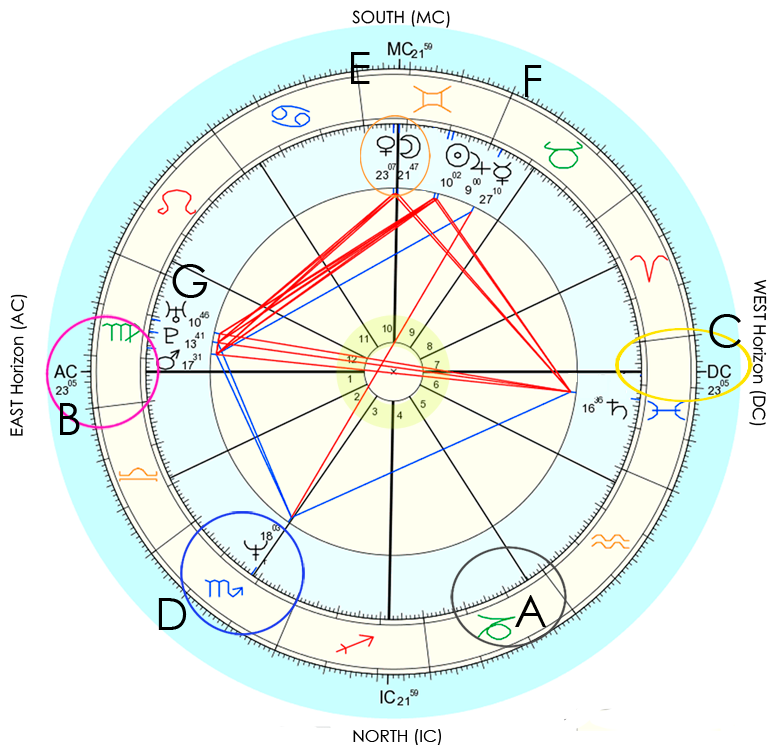 Anatomy Of A Birth Chart The Tiny Totem Blog
