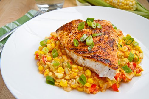 Blackened Swordfish