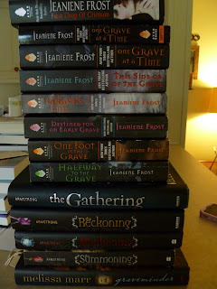 Books from the signing
