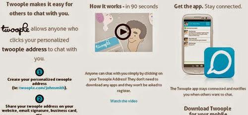 Crea salas de chats online con Twoople