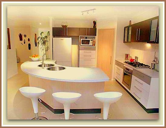 Barras De Cocina Modernas Cocinas Modernas Con Barra Mimaskucom