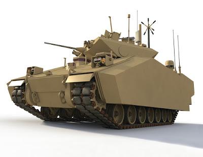 BAE Systems GCV Concept