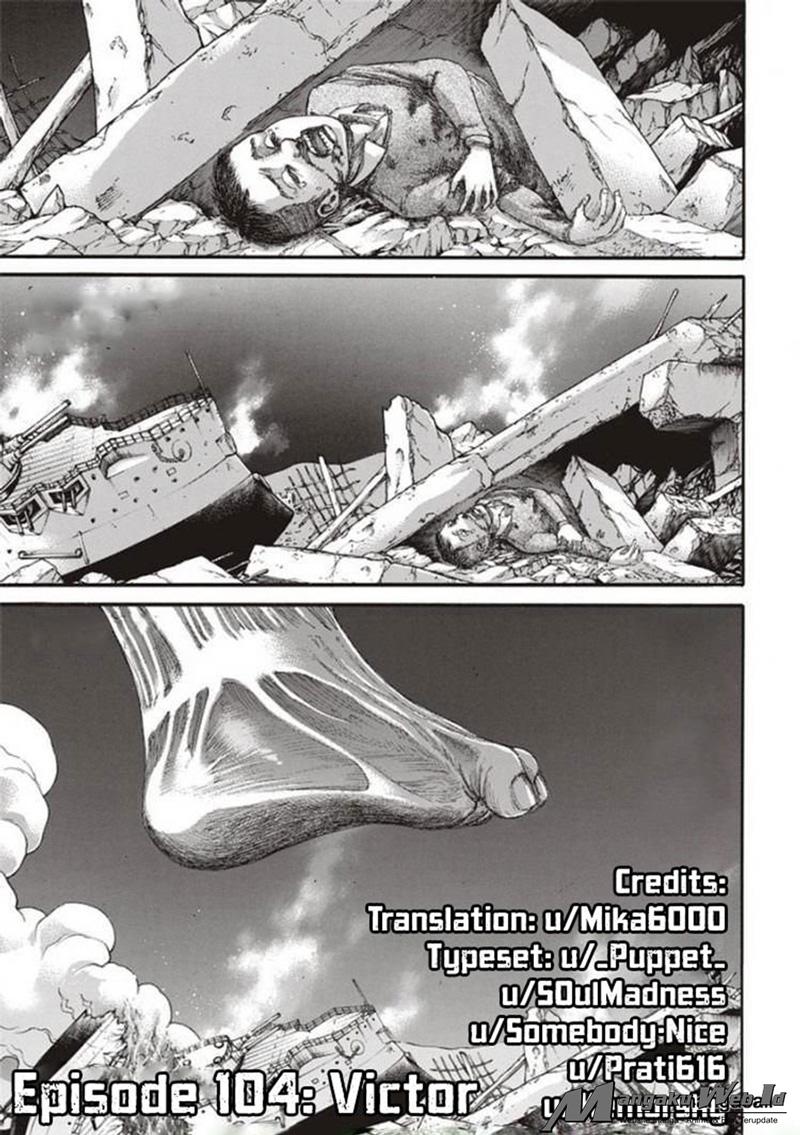 Shingeki no Kyojin Chapter 104-1