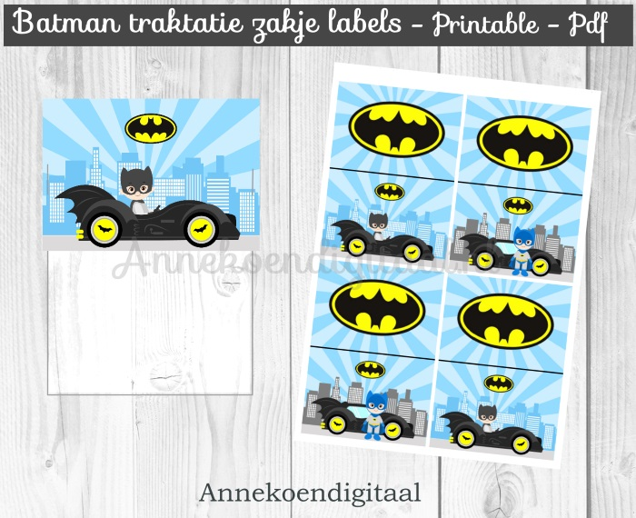 SUPERHELDEN PRINTABLES
