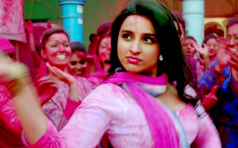 Parineeti Chopra Color Holi Song - Daawat-e-Ishq