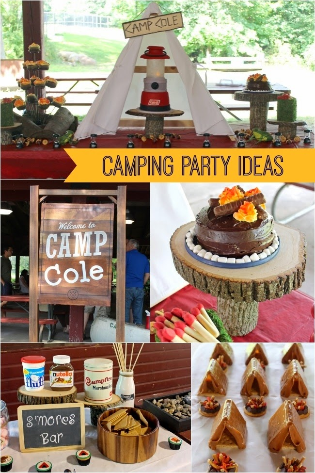 The Idea Of A Camping Party Offers Lot Appeal For Range Ages Perhaps Its Because Entire Theme Conjures Up Wholesome Images Nature