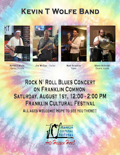 Kevin T Wolfe band to perform on the Town Common