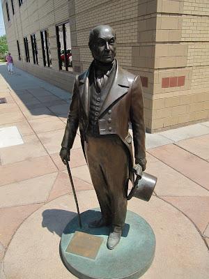 John Quincy Adams statue, estatua de John Quincy Adams