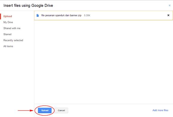 Cara Mengirim File Berukuran Besar dengan Gmail