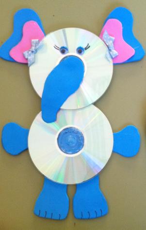El blog de marina manualidades con cds usados - Manualidades con cd usados ...