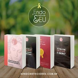"""Coleção de Livros """"A Endometriose e Eu"""""""