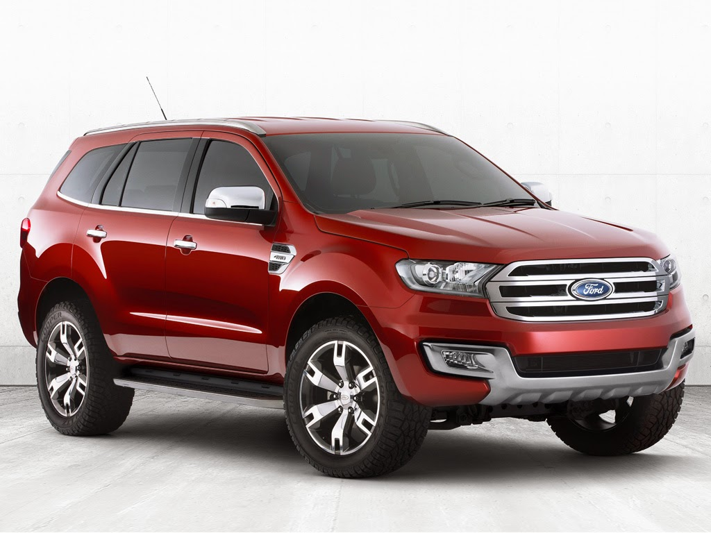 Ford Everest Concept Revealed at Bangkok International Auto Show