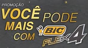 Como eu faço para participar da promoção Bic Flex 4 2013?