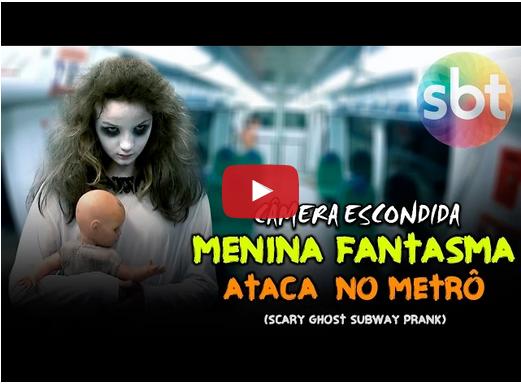 La niña fantasma ataca en el Metro
