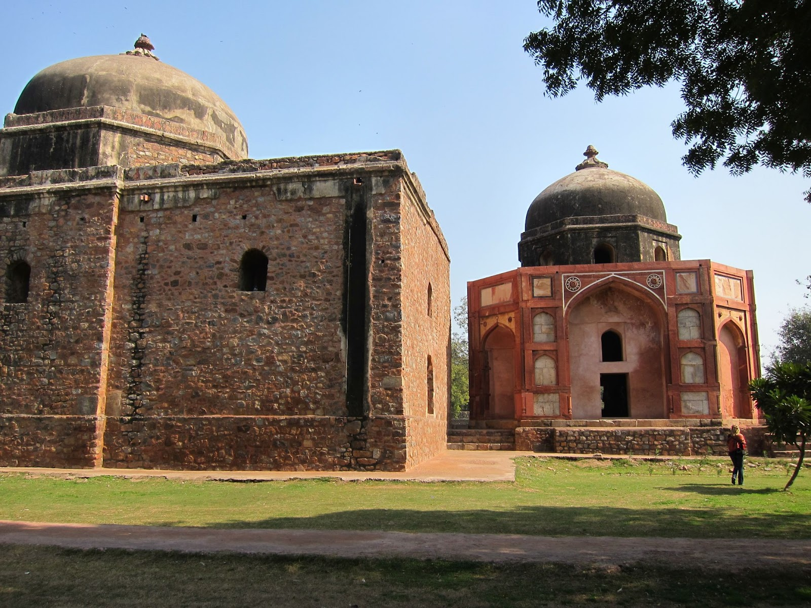 Worldtour 2011 - 2012: 8th February: Humayans Tomb, Red ...
