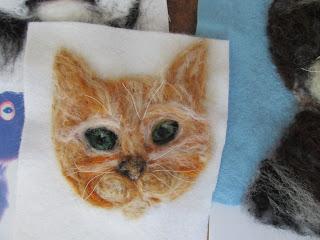 Wool painting