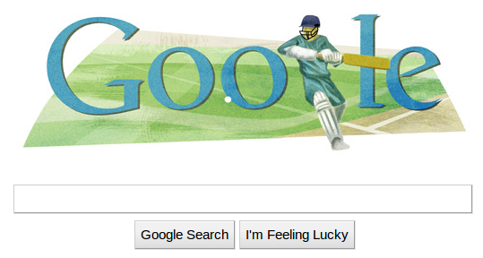 world cup 2011 logo cricket. Google Logo for Cricket World