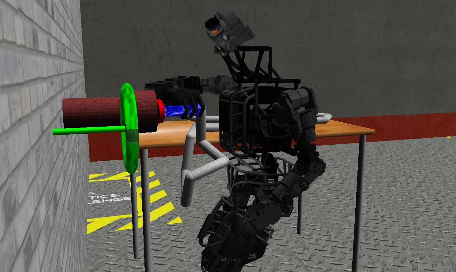 DARPA Robotics Challenge VRC