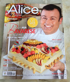 Sono su Alice Cucina di agosto 2015