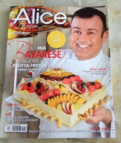 Sono su Alice Cucina di agosto 2015