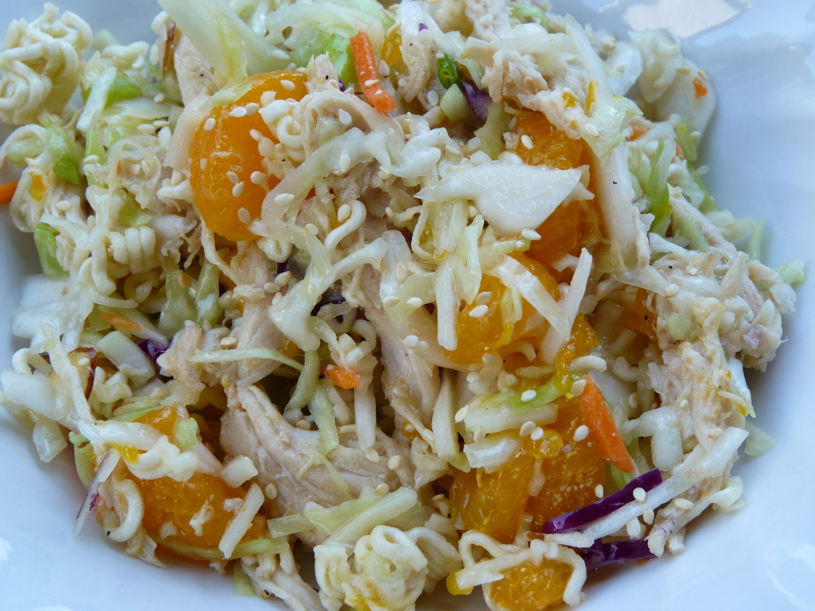 Fantastic Family Favorites: Crunchy Asian Chicken Salad