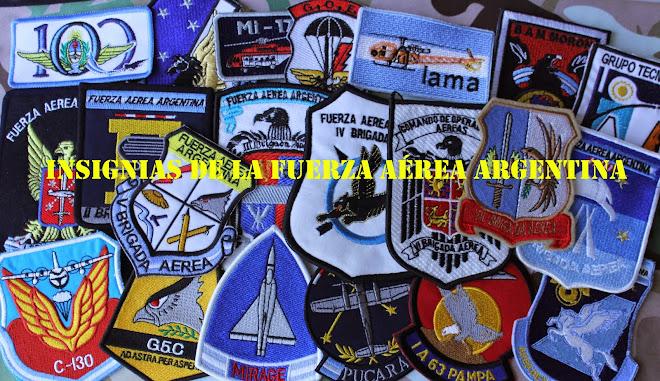 Insignias de la Fuerza Aérea Argentina