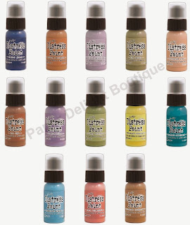 New Tim Holtz Distress Paint
