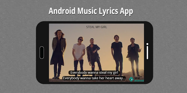 Android Music and Lyrics App